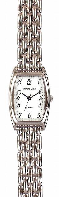 【Future Club】フューチャークラブ レディース腕時計 FC-033L-WS 日常生活用防水(日本製) /5点入り(代引き不可)