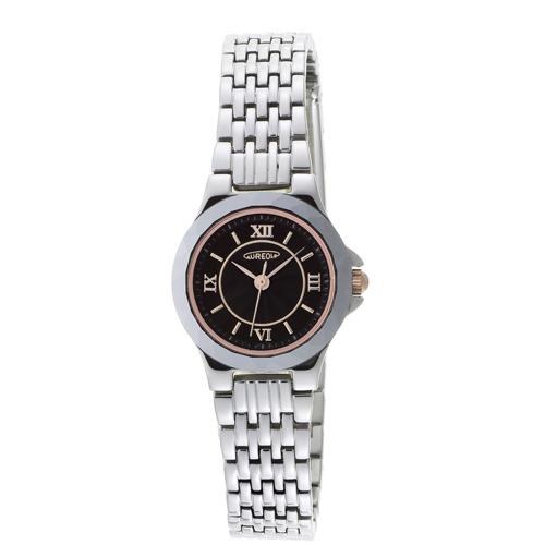 【AUREOLE】オレオール レディース腕時計 SW-489L-1 アナログ表示 薄型 超硬質合金ベゼル 日常生活用防水 /5点入り(代引き不可)