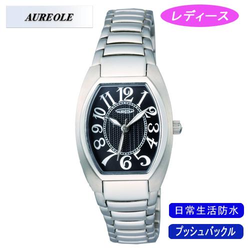 【AUREOLE】オレオール レディース腕時計 SW-488L-1 アナログ表示 日常生活用防水 /1点入り(代引き不可)