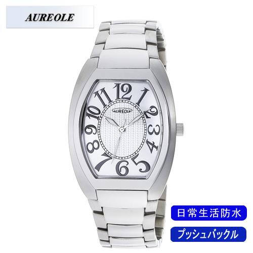 【AUREOLE】オレオール メンズ腕時計 SW-488M-3 アナログ表示 日常生活用防水 /1点入り(代引き不可)