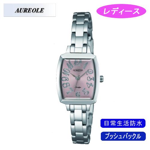 【AUREOLE】オレオール レディース腕時計 SW-497L-4 アナログ表示 日常生活用防水 /1点入り(代引き不可)