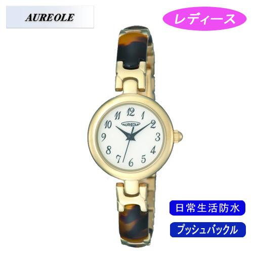【AUREOLE】オレオール レディース腕時計 SW-492L-3 アナログ表示 日常生活用防水 /5点入り(代引き不可)