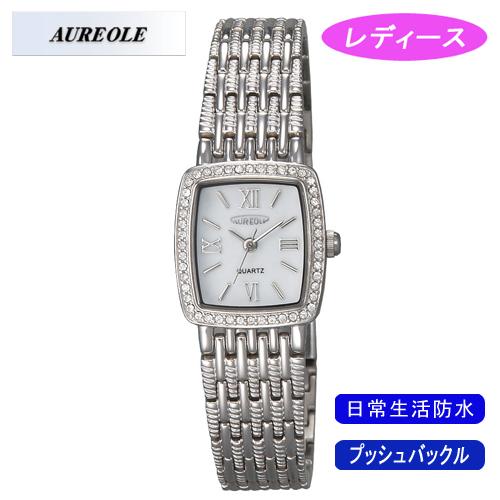 【AUREOLE】オレオール レディース腕時計 SW-459L-3 アナログ表示 日常生活用防水 /1点入り(代引き不可)