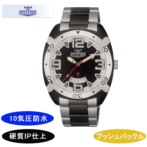 【SPITFIRE】スピットファイア メンズ腕時計 SF-911M-1 アナログ表示 10気圧防水 /5点入り(代引き不可)
