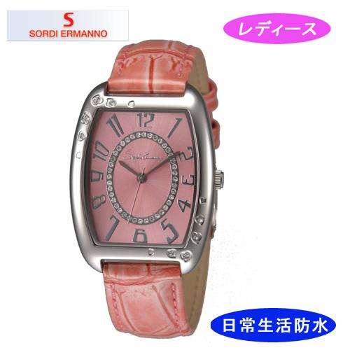 【SORDI ERMANNO】ソルディ・エルマーノ レディース腕時計 ES-854L-4 アナログ表示 3気圧 /20点入り(代引き不可)