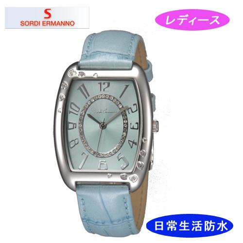 【SORDI ERMANNO】ソルディ・エルマーノ レディース腕時計 ES-854L-5 アナログ表示 3気圧 /10点入り(代引き不可)