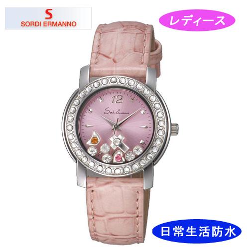 【SORDI ERMANNO】ソルディ・エルマーノ レディース腕時計 ES-853L-4 アナログ表示 3気圧 /5点入り(代引き不可)