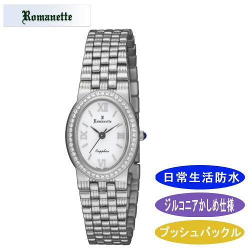 【ROMANETTE】ロマネッティ レディース腕時計 RE-3523-L-6 アナログ表示 日常生活用防水 /10点入り(代引き不可)