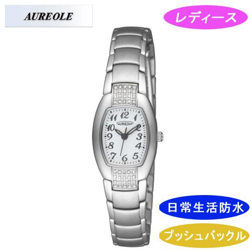 【AUREOLE】オレオール レディース腕時計 SW-469L-6 アナログ表示 日常生活用防水 /1点入り(代引き不可)