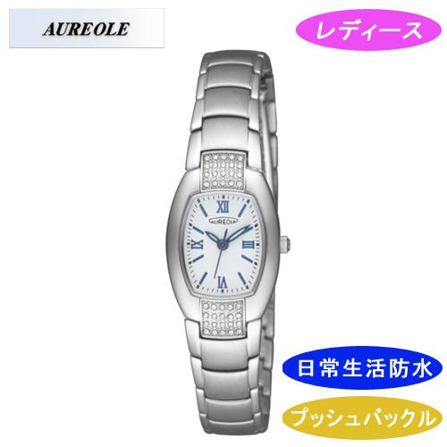 【AUREOLE】オレオール レディース腕時計 SW-469L-7 アナログ表示 日常生活用防水 /10点入り(代引き不可)
