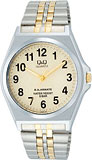 【CITIZEN】シチズン Q&Q ソーラー電源 アナログ メンズ腕時計H978-404 /10点入り(代引き不可)