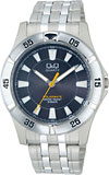 【CITIZEN】シチズン Q&Q ソーラー電源 アナログ メンズ腕時計H968-202 /5点入り(代引き不可)