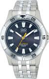 【CITIZEN】シチズン Q&Q ソーラー電源 アナログ メンズ腕時計H968-202 /10点入り(代引き不可)