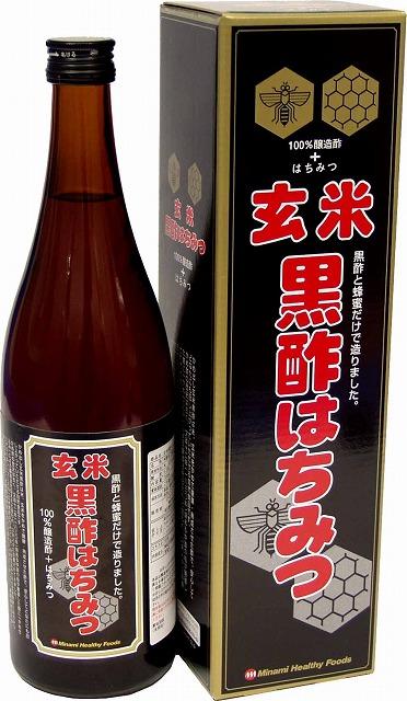 玄米黒酢はちみつ720ml(日本製) /12点入り(代引き不可)