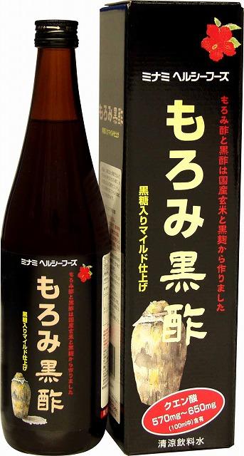 もろみ黒酢720ml(日本製) /12点入り(代引き不可)【送料無料】【S1】