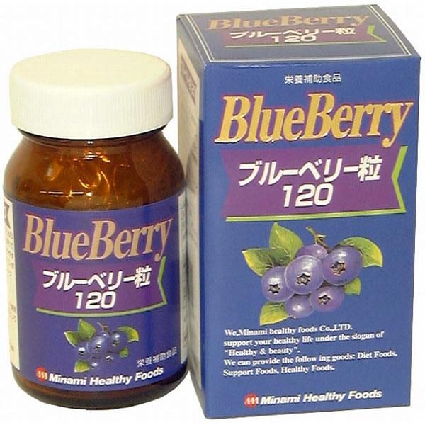 ブルーベリー粒120(日本製) /40点入り(代引き不可)