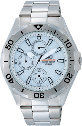 【CITIZEN】シチズン Q&Q ソーラー電源搭載マルチハンズ メンズ腕時計H018-201 /5点入り(代引き不可)