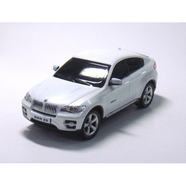ラジオコントロールカー R/C 1:26 BMW X6 BMW X6(ホワイト)TY-0101BW/12点入り(代引き不可)