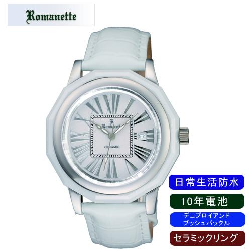 【ROMANETTE】ロマネッティ メンズ腕時計RE-3521M-3 アナログ表示 10年電池 日常生活用防水 /1点入り(代引き不可)