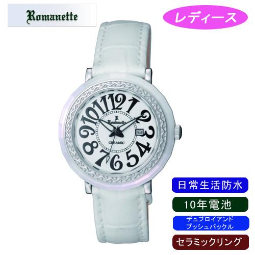 【ROMANETTE】ロマネッティ レディース腕時計RE-3522L-3 アナログ表示 10年電池 日常生活用防水 /5点入り(代引き不可)