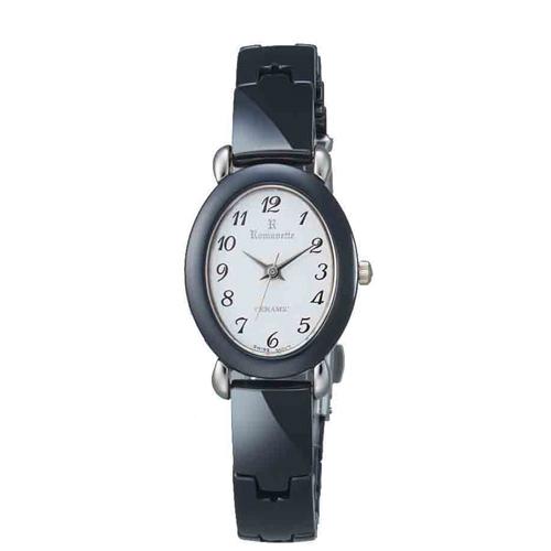 【ROMANETTE】ロマネッティ レディース腕時計RE-3512L-3 アナログ表示 K18リューズ 日常生活用防水 /5点入り(代引き不可)
