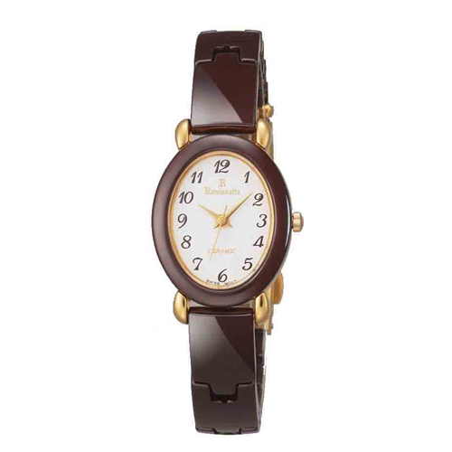 【ROMANETTE】ロマネッティ レディース腕時計RE-3512L-9 アナログ表示 K18リューズ 日常生活用防水 /1点入り(代引き不可)