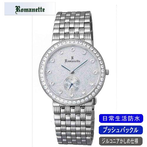 【ROMANETTE】ロマネッティ メンズ腕時計RE-3517M-3 アナログ表示 スイス製ムーブ 日常生活用防水 /1点入り(代引き不可)