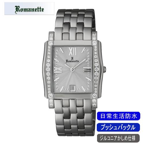 【ROMANETTE】ロマネッティ メンズ腕時計RE-3519M-3 アナログ表示 スイス製ムーブ 日常生活用防水 /10点入り(代引き不可)
