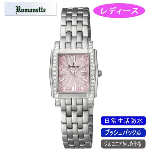 【ROMANETTE】ロマネッティ レディース腕時計RE-3519L-4 アナログ表示 スイス製ムーブ 日常生活用防水 /10点入り(代引き不可)
