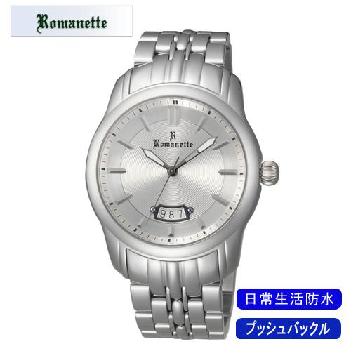 【ROMANETTE】ロマネッティ メンズ腕時計RE-3518M-3 アナログ表示 スイス製ムーブ 日常生活用防水 /5点入り(代引き不可)