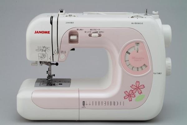 ジャノメミシン マリエッタM8090 Pi/1点入り(代引き不可)