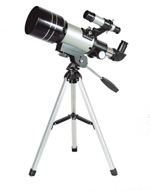 【MIZAR-TEC】ミザールテック 天体望遠鏡卓上型TS-70 屈折式 口径70mm 焦点距離300m /10点入り(代引き不可)【送料無料】
