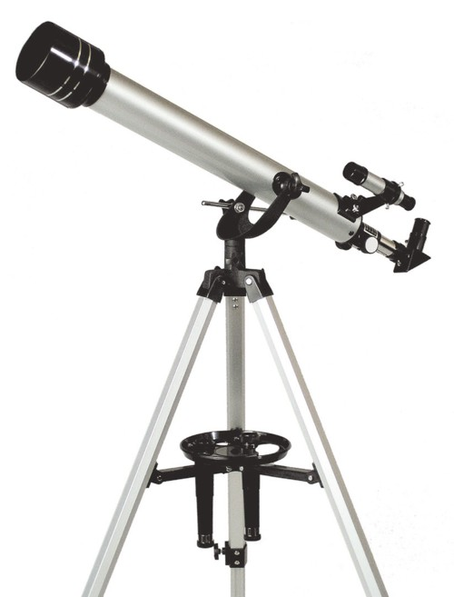 【MIZAR-TEC】ミザールテック 天体望遠鏡ST-700 屈折式 口径60mm 焦点距離700mm /4点入り(代引き不可)