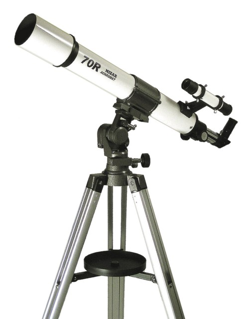 【MIZAR-TEC】ミザールテック 天体望遠鏡MT-70R 屈折式 口径70mm 焦点距離700mm /1点入り(代引き不可)