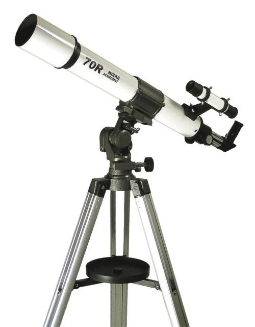 【MIZAR-TEC】ミザールテック 天体望遠鏡MT-70R 屈折式 口径70mm 焦点距離700mm /2点入り(代引き不可)【送料無料】