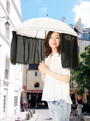 かんたん装着 傘カーテン /72点入り(代引き不可)【送料無料】