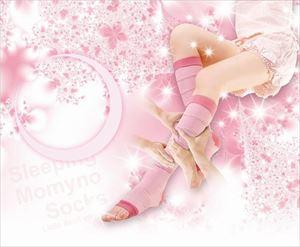 寝ながらモミーノソックス小悪魔バージョン ピンク/48点入り(代引き不可)【送料無料】