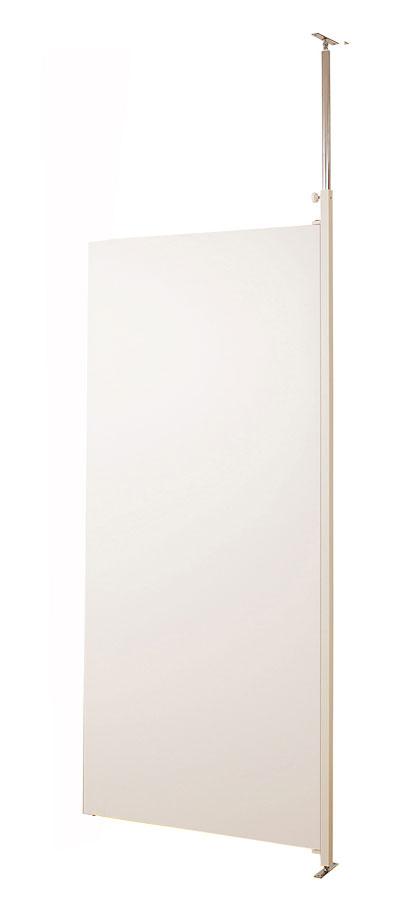 突っ張りパ-テ-ションボ-ド幅87.5cm 連結用 ホワイト【送料無料】