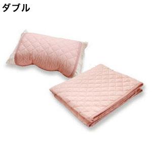 【今なら送料無料!】クールレイ 2点セット (パッドシーツ・枕パッド) ダブル coolray キシリトール 寝具
