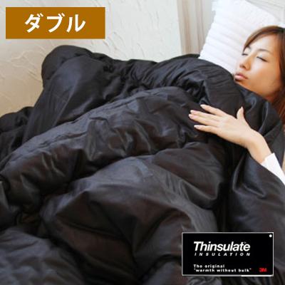 【送料無料】寝具 ふとん 布団 国産 Newシンサレート(Thinsulate) 掛け布団 【ダブルサイズ】