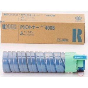 RICOH (リコー) IPSiO トナーカートリッジ 400B:C シアン 636670 【純正品】 【送料無料】(代引き不可)