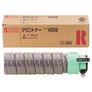 RICOH (リコー) IPSiO トナーカートリッジ 400B:BK ブラック 636667 【純正品】 【送料無料】(代引き不可)