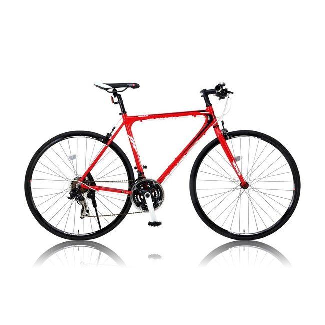 CANOVERR カノーバ― クロスバイク CAC-021 VENUS レッド(代引不可)【送料無料】