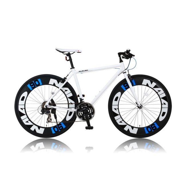 CANOVERR カノーバ― クロスバイク CAC-023 NAIAD ホワイト(代引不可)【送料無料】