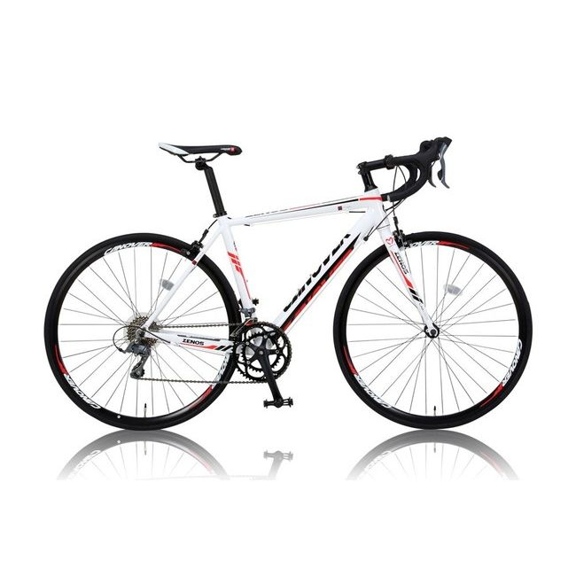 CANOVERR カノーバ― ロードバイク CAR-011 ZENOS ホワイト(代引不可)【送料無料】