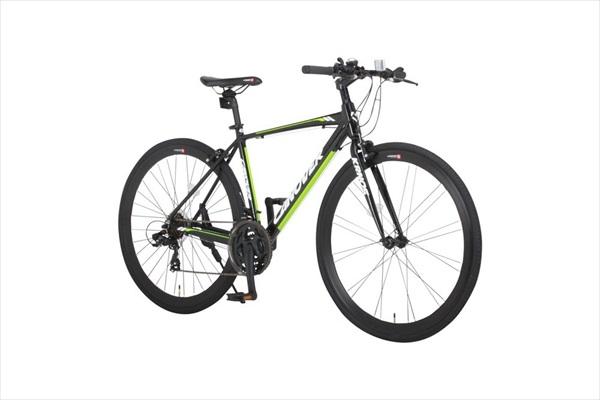 自転車 CANOVER カノーバー CAC-028 KRNOS ホワイト ブラック クロスバイク(代引不可)【送料無料】