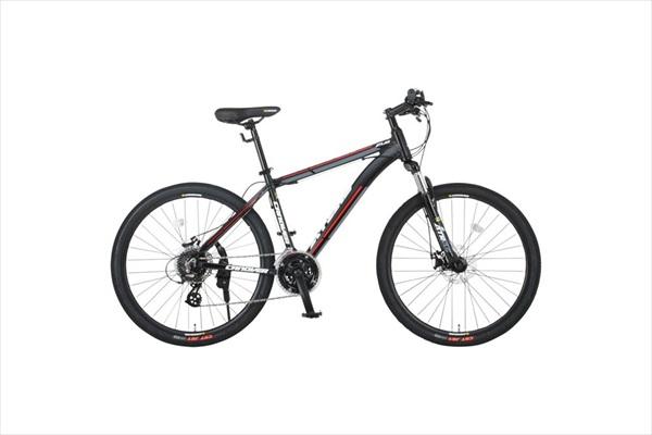 自転車 CANOVER カノーバー CAMT-043-DD ATLAS マットブラック ホワイト MTB(代引不可)【送料無料】