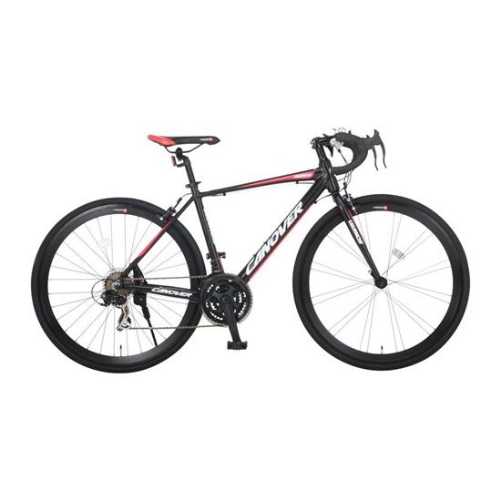 自転車 CANOVER カノーバー CAR-015 UARNOS マットブラック ホワイト ロードバイク(代引不可)【送料無料】