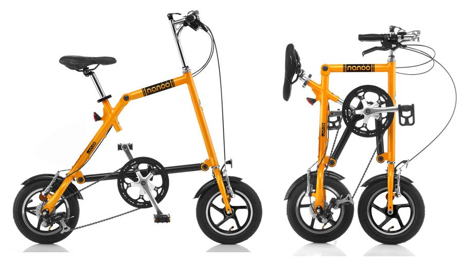 自転車 オオトモ NANOO-FD-1207 折りたたみ自転車(代引不可)【送料無料】