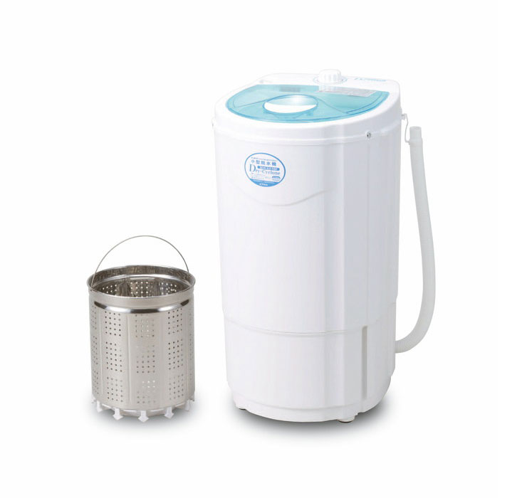 ビーカム 家庭用 小型脱水機 BDS-3.0SBR ドライサイクロン ペット スニーカー 雑巾 水切り 脱水(代引不可)
